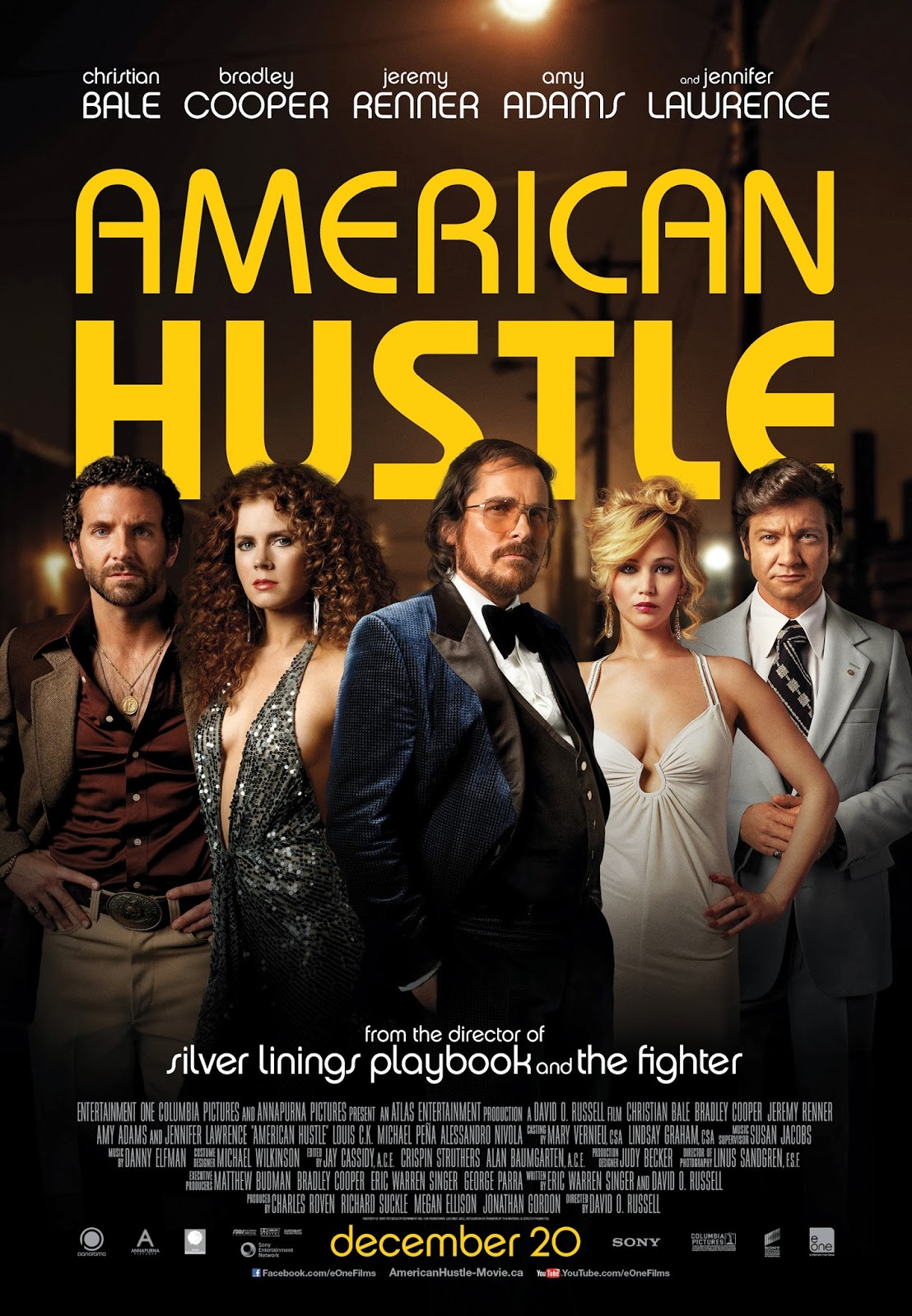 Win Tickets to 'American Hustle'!