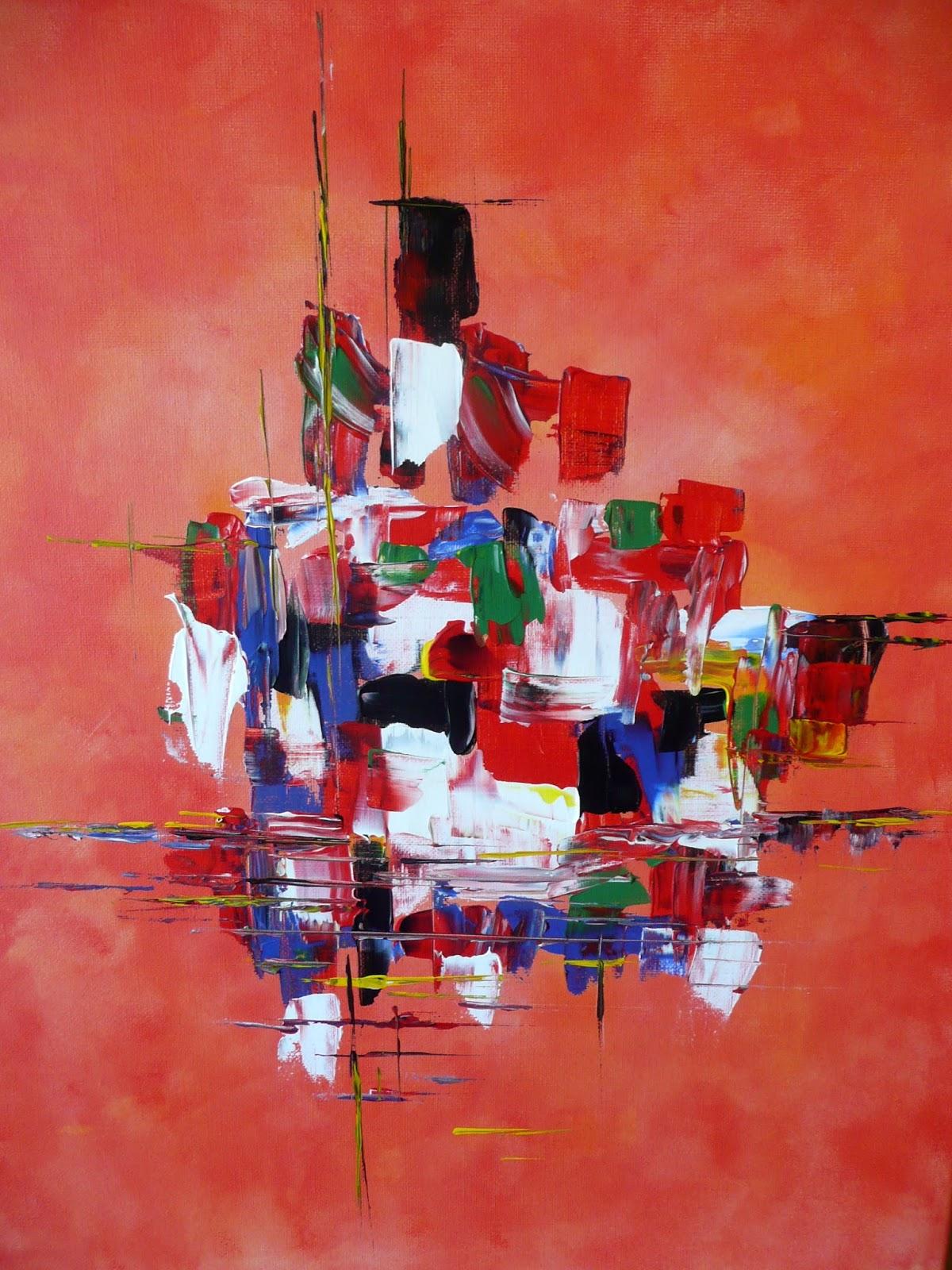 Nicole catt artiste peintre peinture acrylique moderne et abstraite for Peinture acrylique sur toile moderne