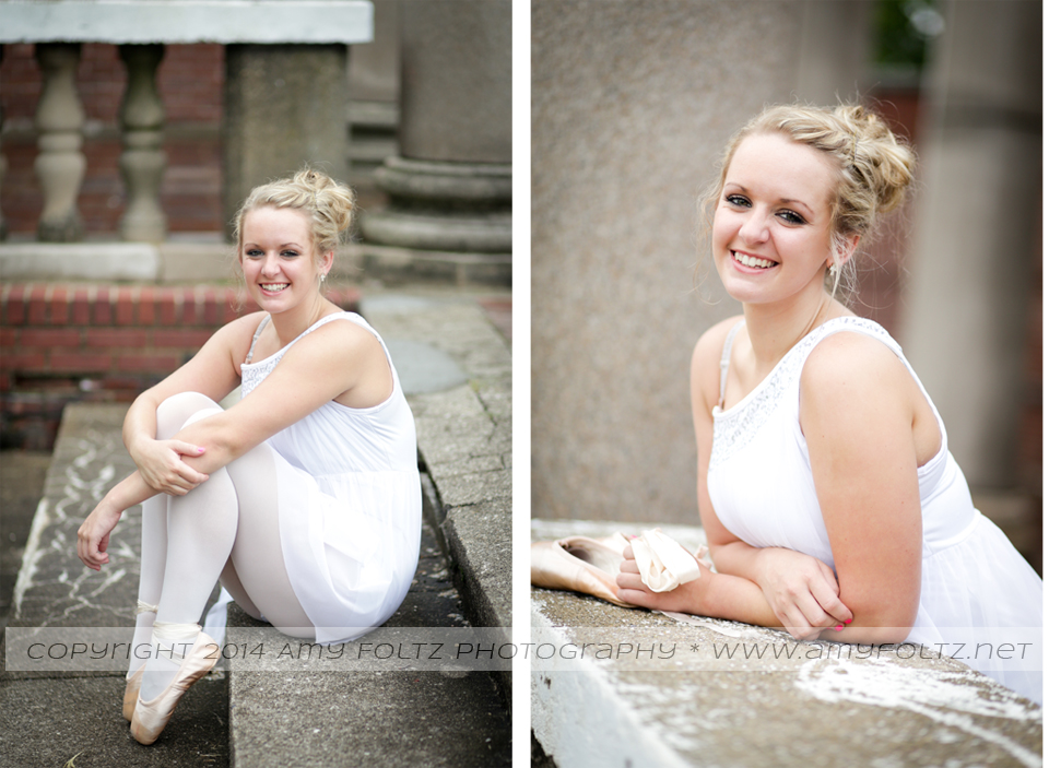 photos of a teenage dancer at Fairbanks Park in Terre Haute, Indiana