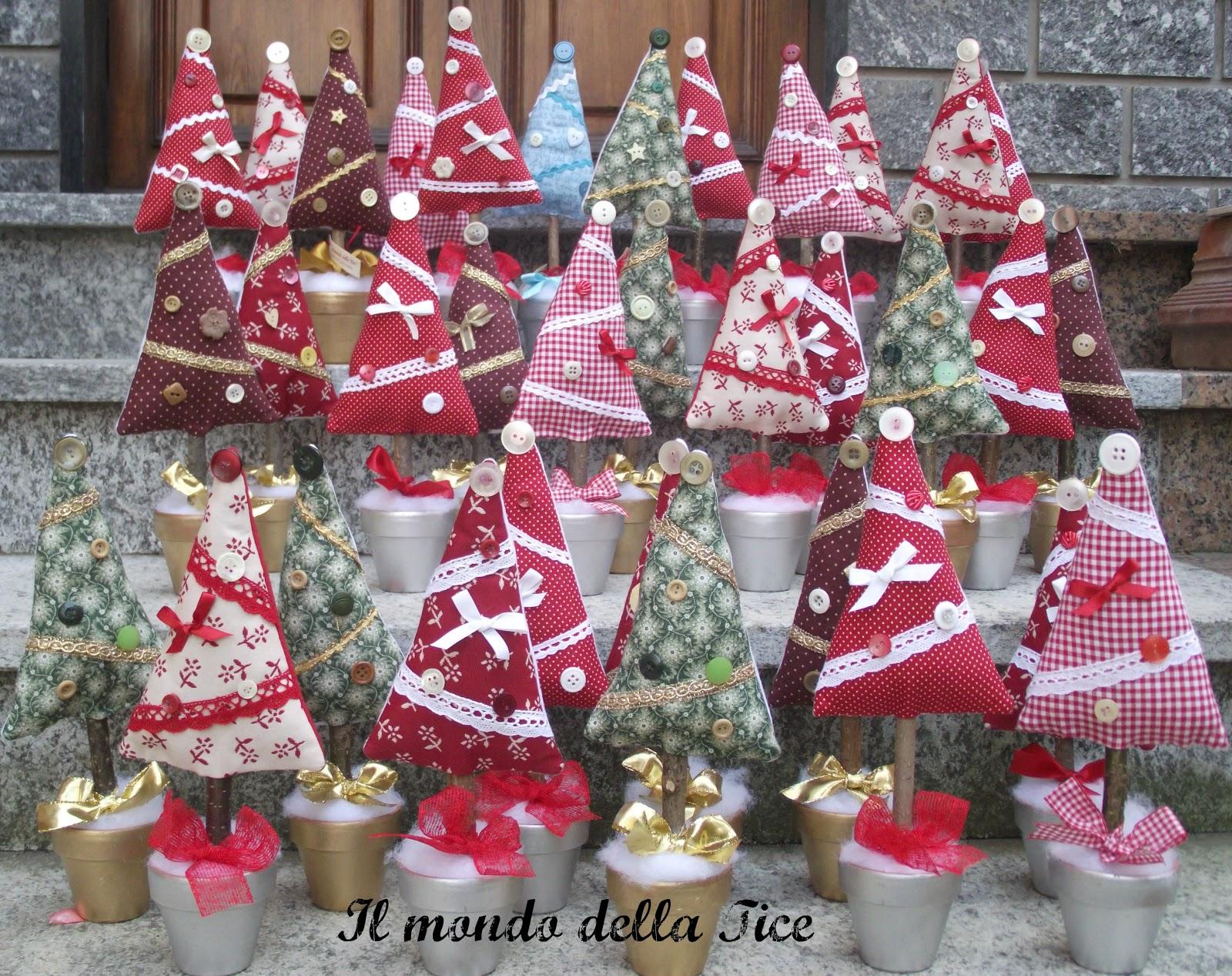 Il mondo della tice alberelli di natale e hobby show for Alberelli di natale