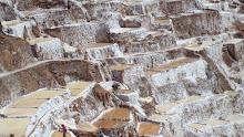 Moras, the salt mines