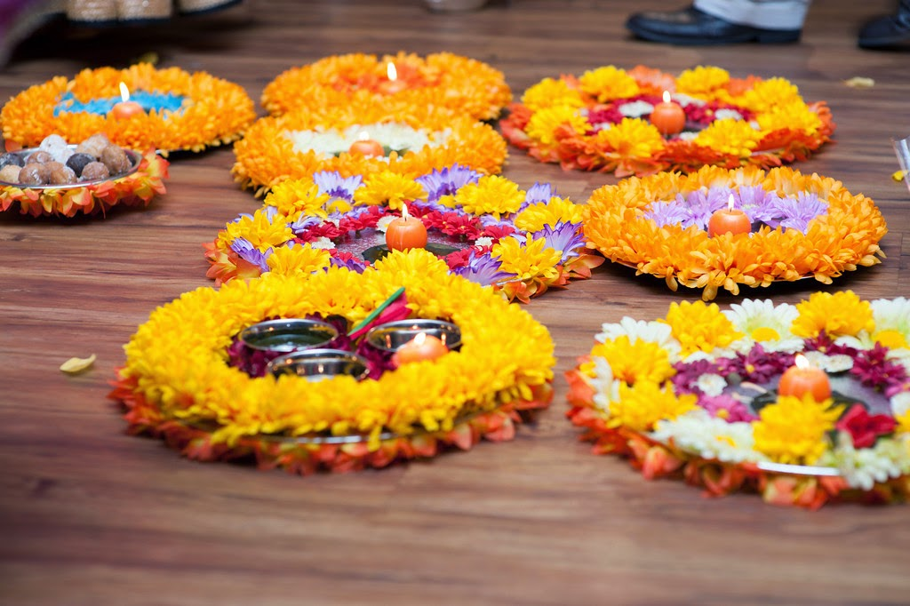 indian wedding, mehndi, decor, thali
