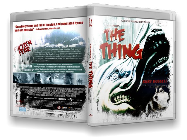 Capa Bluray The Thing