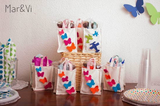 detalles para cumpleaños infantil de mariposas