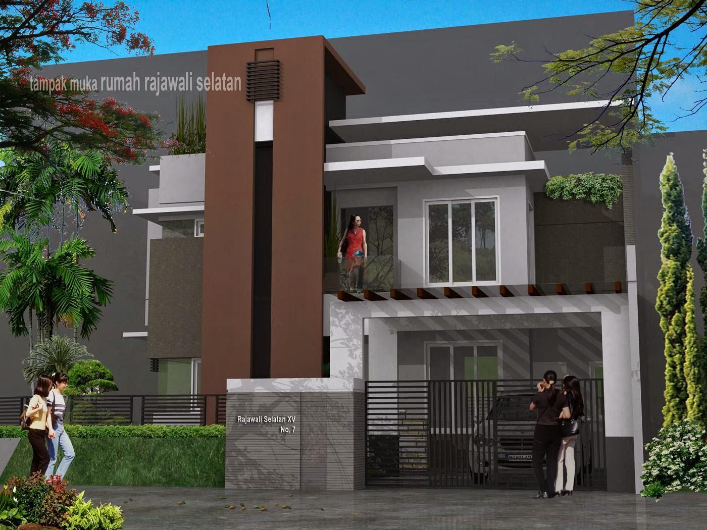 desain rumah modern desain properti indonesia