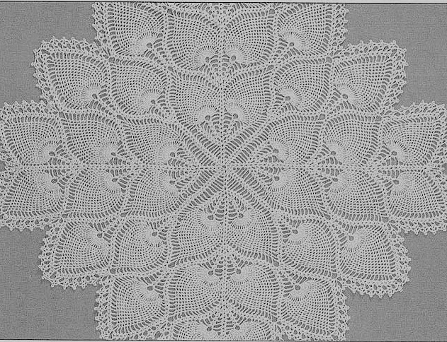 Crocheting Directions : doily or tablecloth see end of instructions for tablecloth directions ...