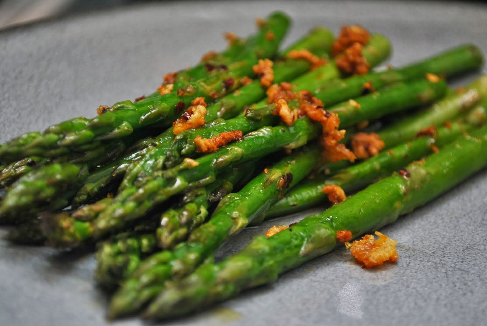 Roasted Asparagus with Garlic Recipe