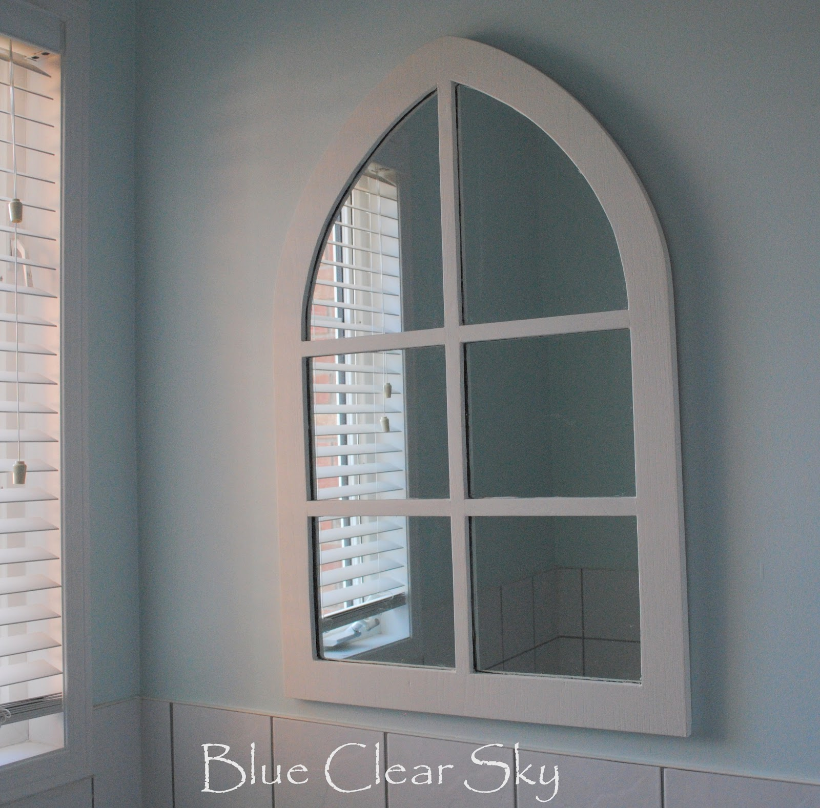 Arch Mirror Makeover For Our Ensuite Bathroom