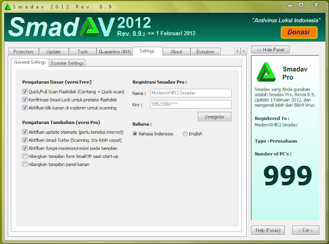 Membuat smadav 89 build 2 menjadi  full version
