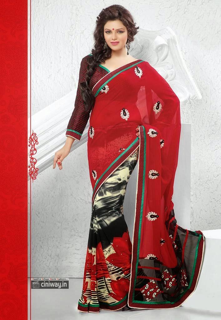 Ishita-Tiwary-Latest-Photoshoot-in-Saree