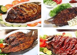 RESEP MASAKAN : Cara Membuat Ikan Gurame Bakar