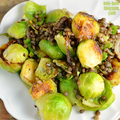 how to cook brussel sprouts in a frying pan
