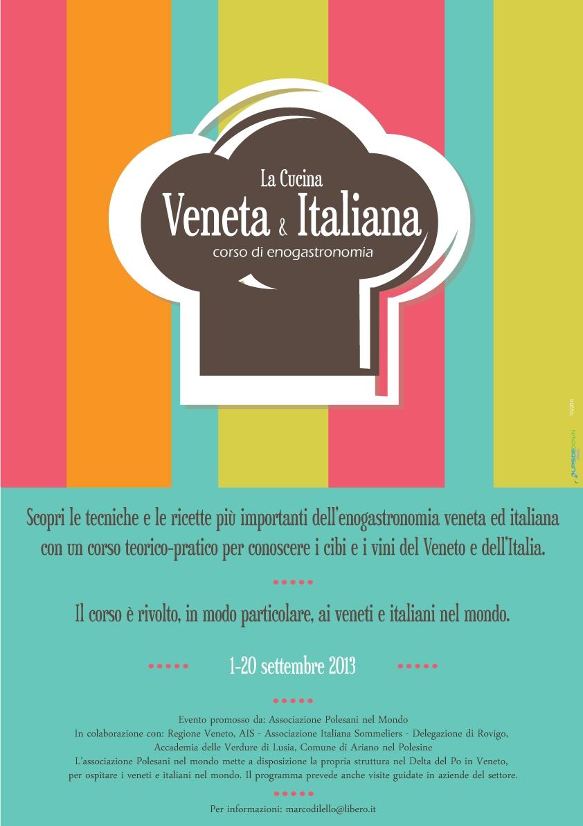 Corso di enogastronomia la cucina veneta ed italiana - Corso cucina italiana ...