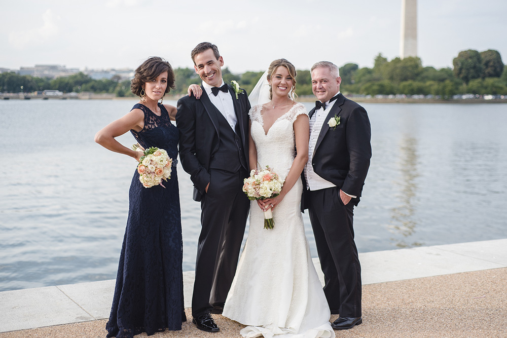 DC Wedding Photography at the Jefferson Memorial