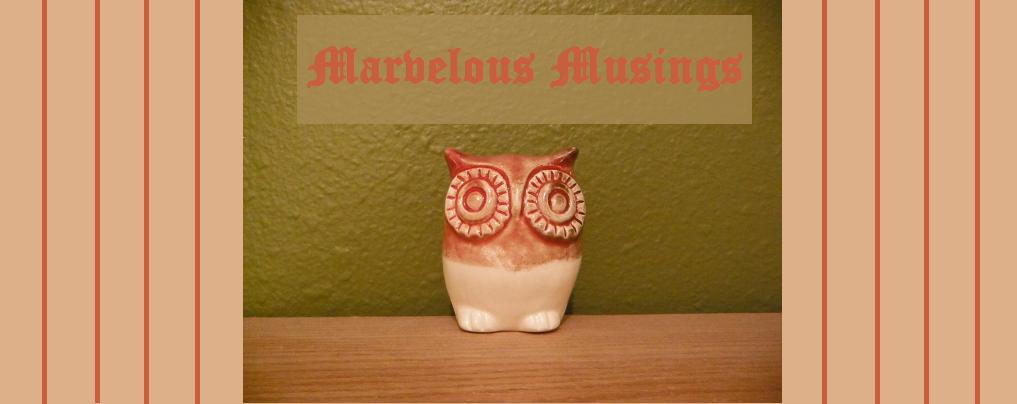 Marvelous Musings