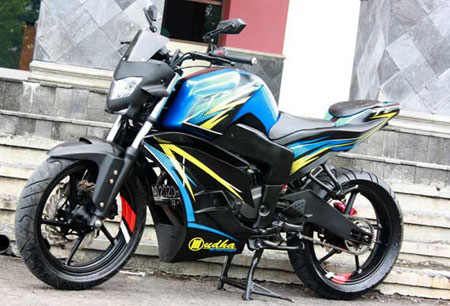 Foto modifikasi motor