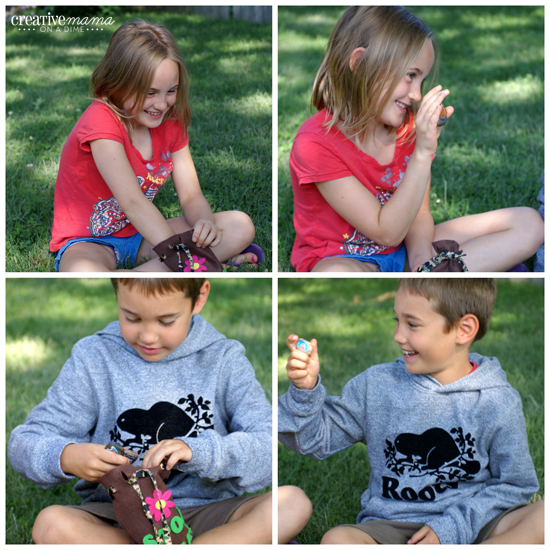 Story Rocks - Backyard Camping Activities for kids