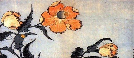 Ukiyo-e. Flor