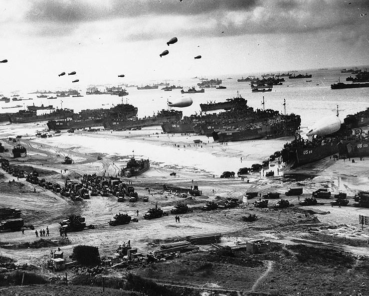 a history of the normandy invasion commonly known as the d day in world war two As the single largest amphibious invasion in the history of mankind, the operation not only marked the beginning of the end for the third reich and for world war two the logistics of operation overlord and d-day.