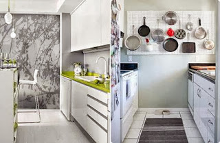 Tips for decorating small kitchens