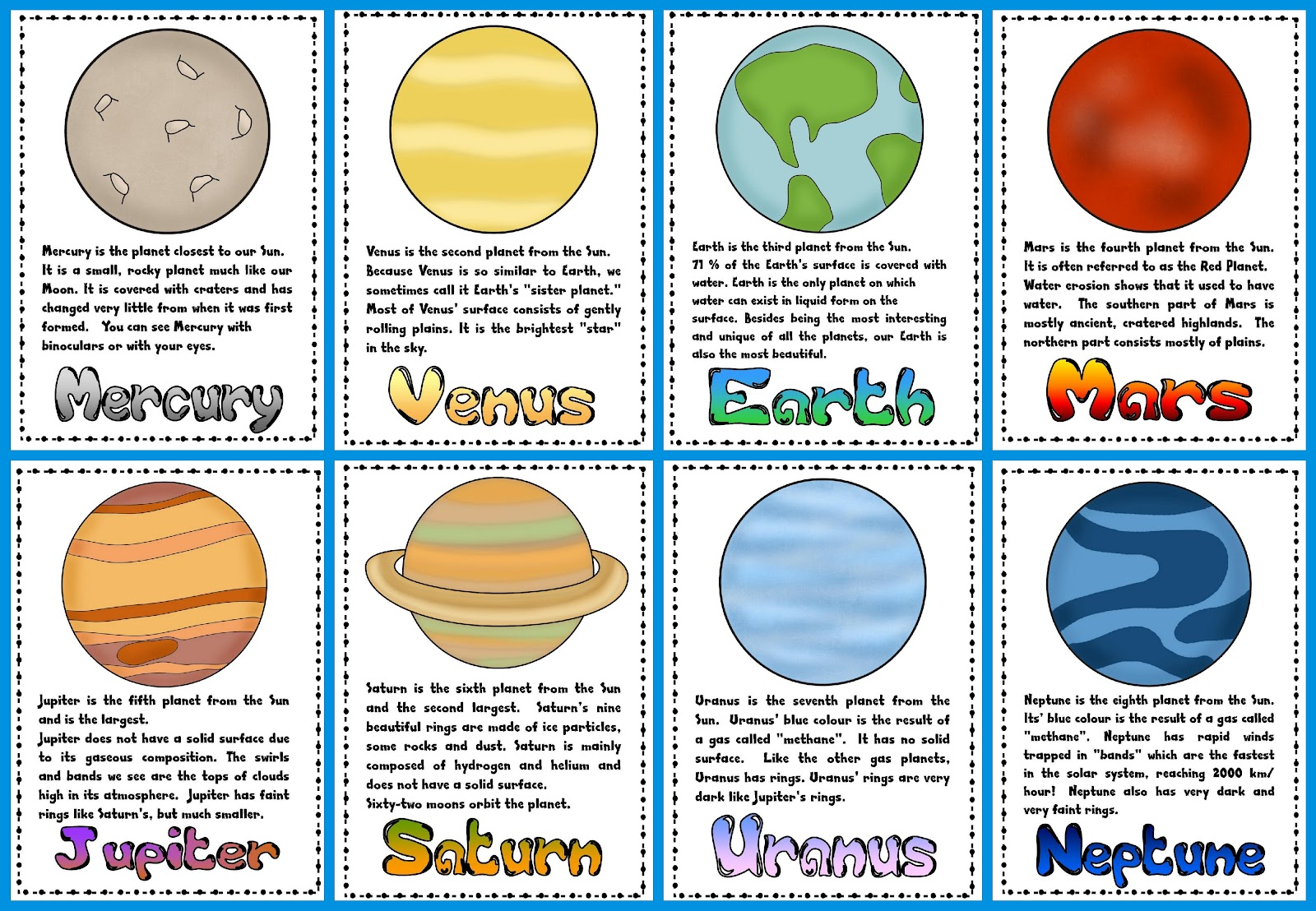 Time off work and 'The Planets'! - Teacher's Toolkit