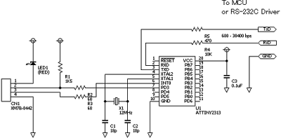 USB RS-232 Emulation Driver (pic18f2450)