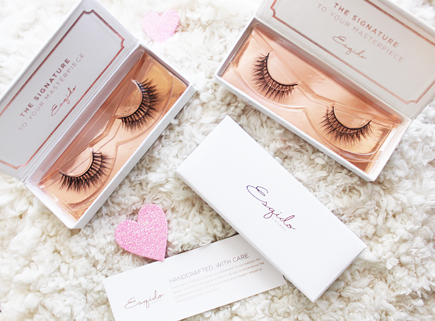 esqido mink eyelashes falsies false lashes review oh so sweet unforgettable lashlorette
