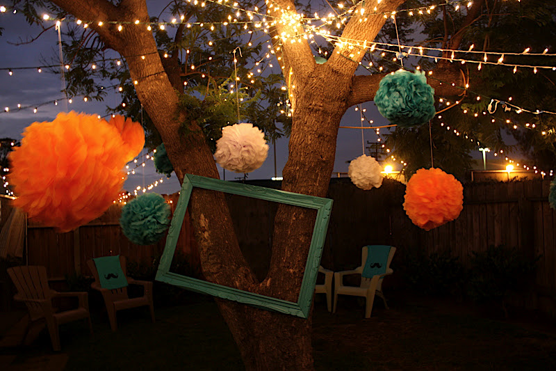 Fall Backyard Party Ideas : Mustache Bash 1st Birthday Party Ideas Blissfully Ever After