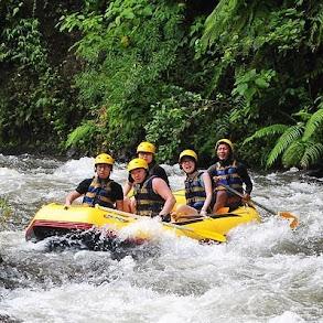 Promo Rafting Sungai Ayung Rp. 170.000