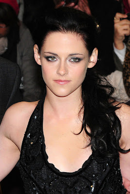 Kristen Stewart Ponytail Hairstyle Photo
