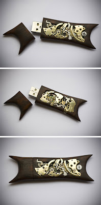 "Steampunk ""Memorias usb flash"""
