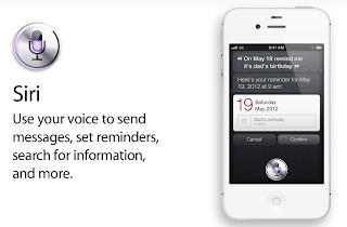 การใช้งาน Siri ลูกเล่นใหม่จาก iPhone 4S