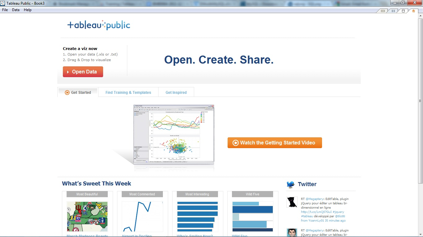 get yourself familiar with tableau public atvgsom