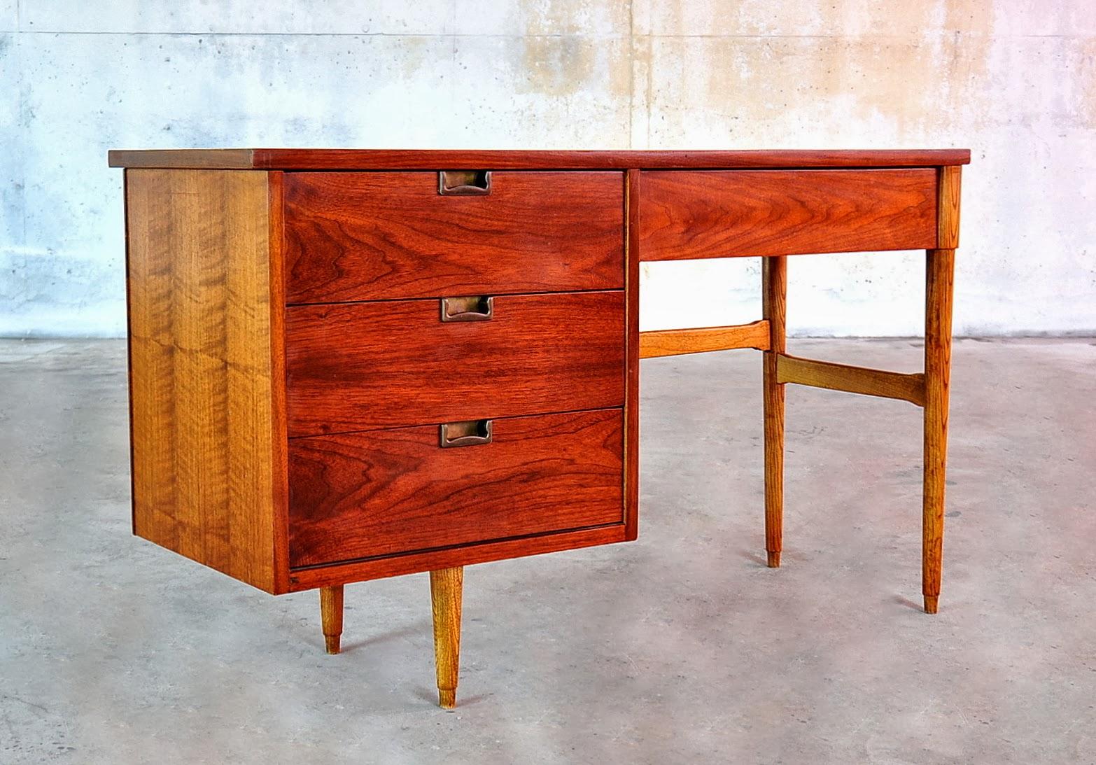 100 danish modern desks mid century modern danish side or d