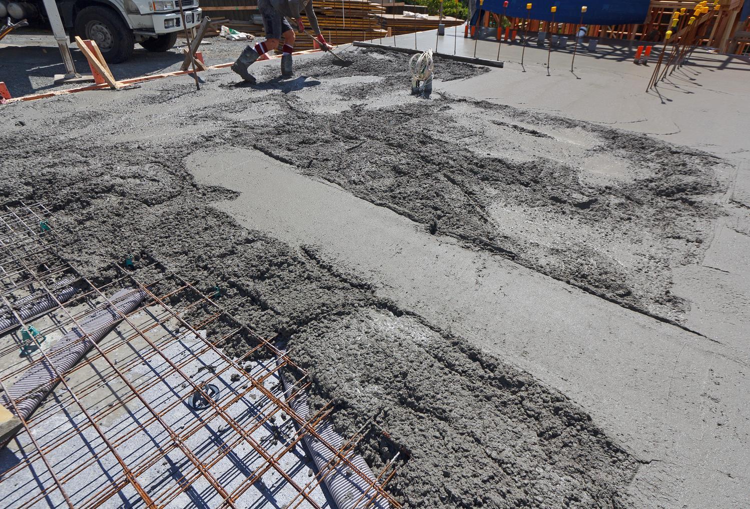 Concrete Floor Slab : Concrete floor slab second pour the new zealand s