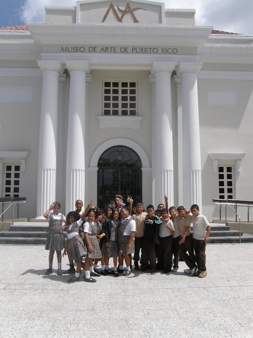 Excursión al Museo de Arte de PR, Exposición de Campeche