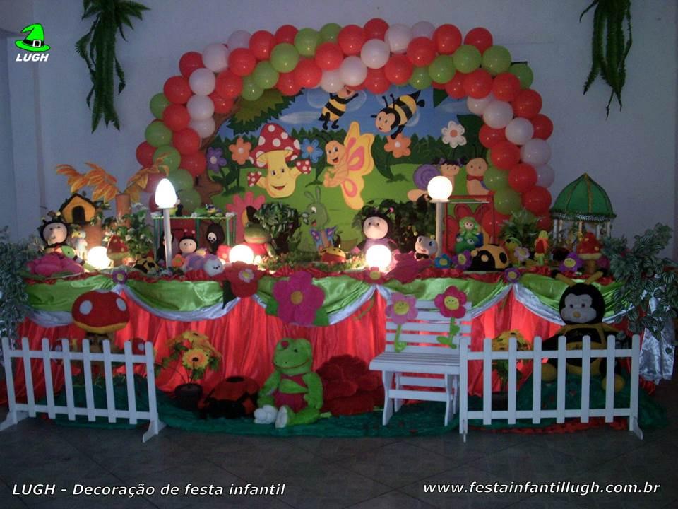decoracao infantil tema jardim encantado:Jardim Encantado – decoração tradicional luxo