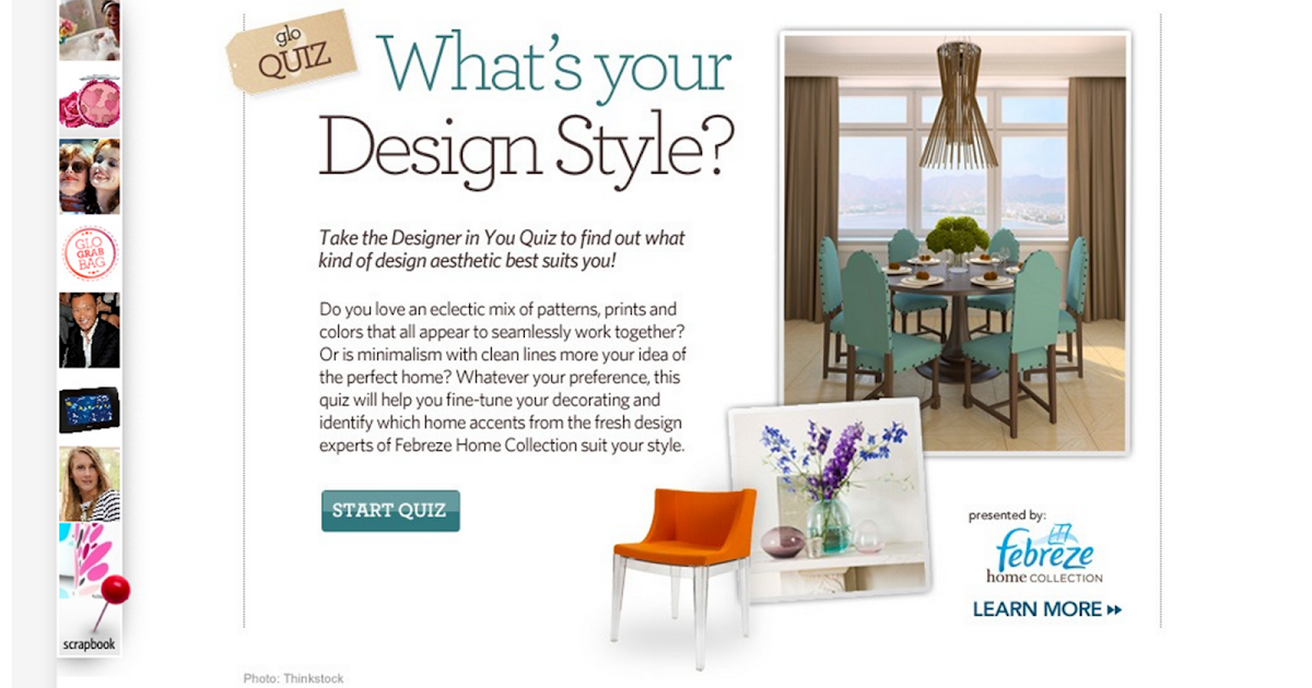 Design Style Quiz Home Depot Center