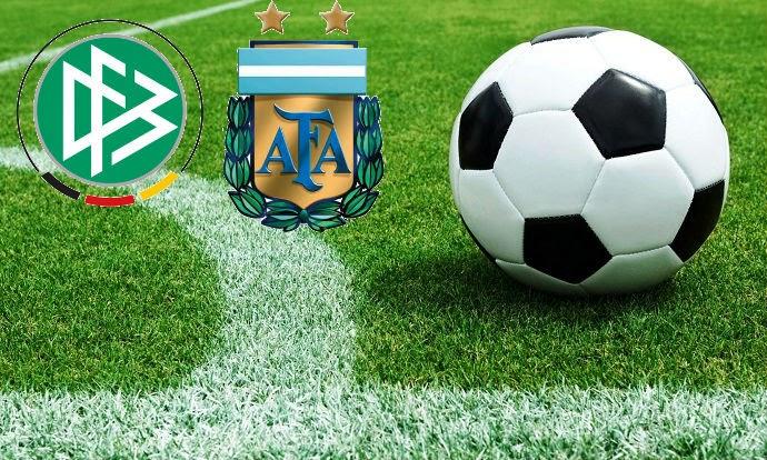 Amistoso Futbol - Alemania-Argentina