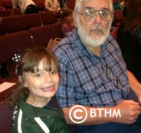 getting ready for concert