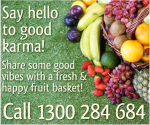 cornucopia of fresh fruit with free delivery to sydney australia