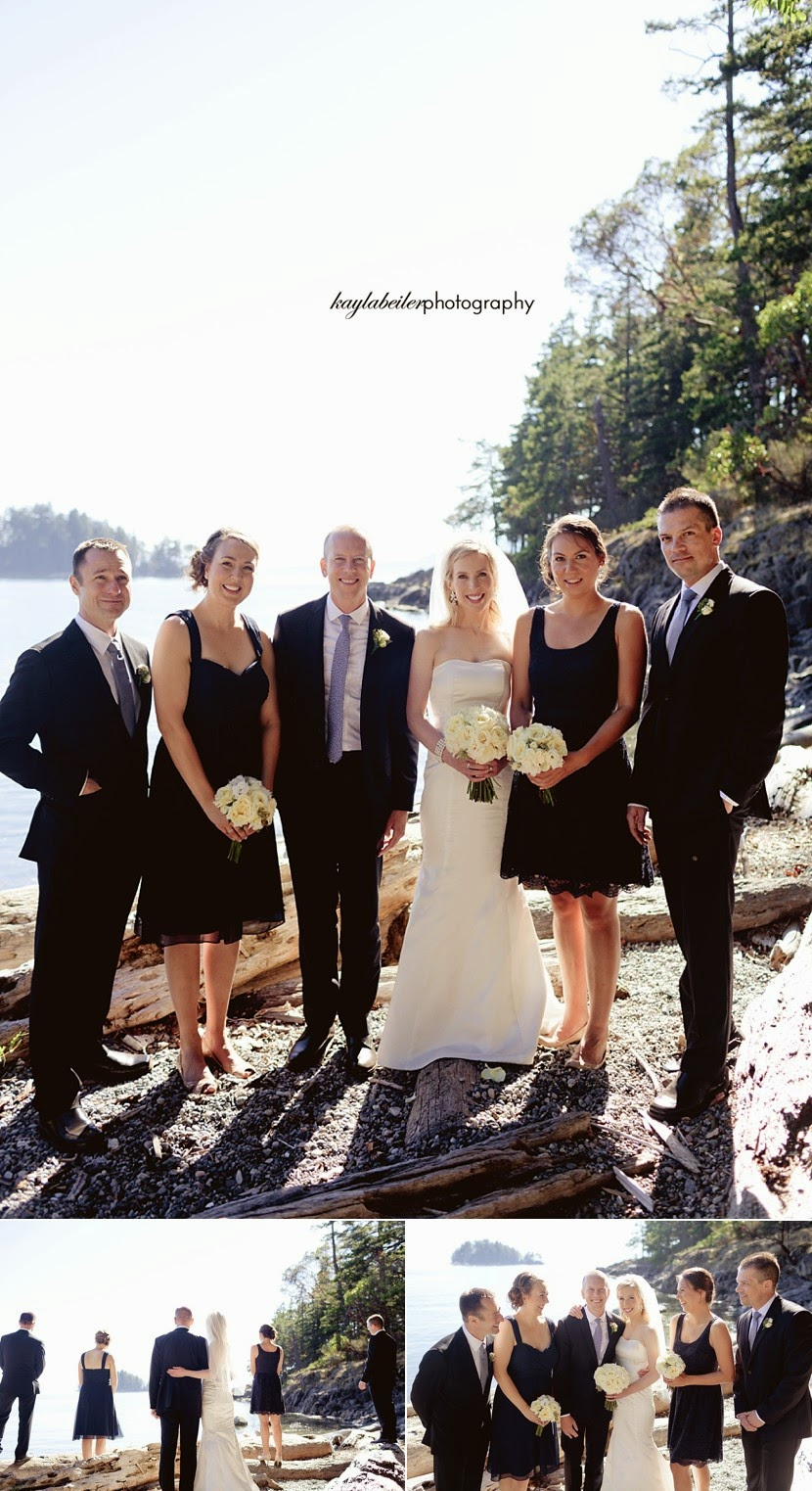 bakers beach bc wedding photo