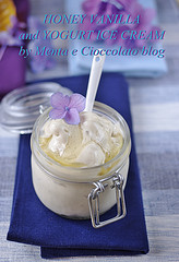 Gelato al Miele e yogurt