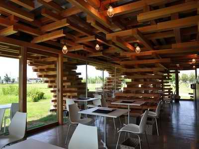 Độc đáo quán cafe xếp gỗ Kureon, Nhật Bản, khám phá, địa điểm độc đáo, dia chi am thuc, địa điểm ăn uống 365, diemanuong365.blogspot.com
