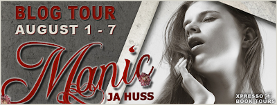 Blog Tour: Manic (Rook and Ronin #2) by JA Huss