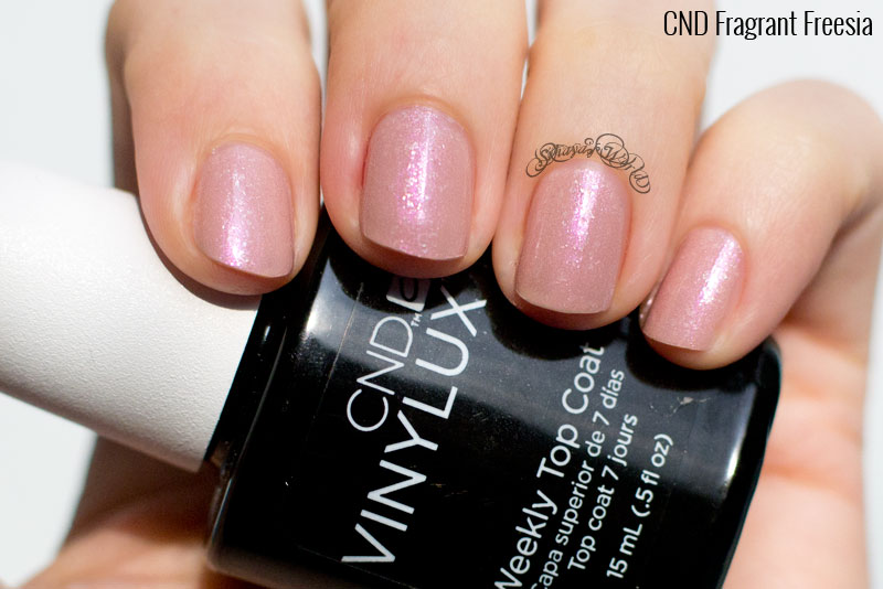 CND VINYLUX Fragrant Freesia swatch