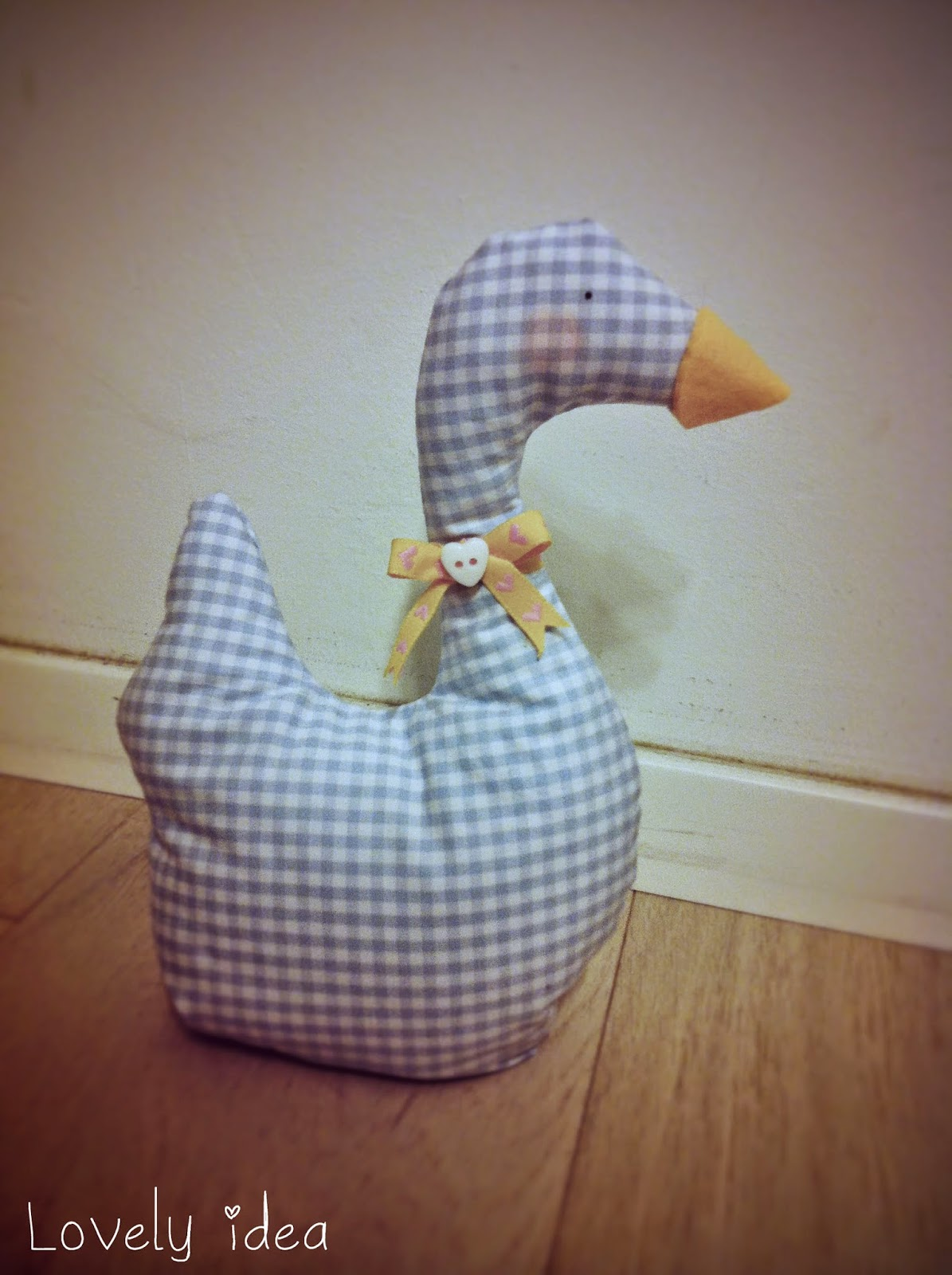 creative sewing goose