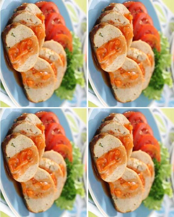 Selain disajikan bersama mixed vegetables dan saus. Resep Galantin Ayam Khas Solo