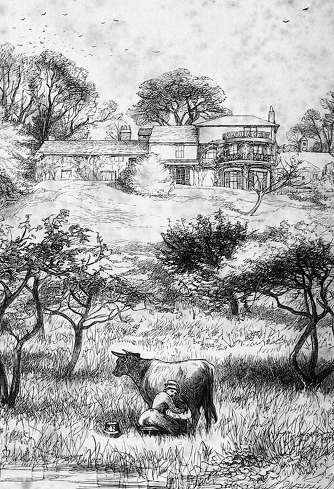 At The Age Of One, The Infant Trollope Was Taken To A House Called Julians  Near Harrow, Ostensibly For Farming Reasons But Actually So He Could Attend