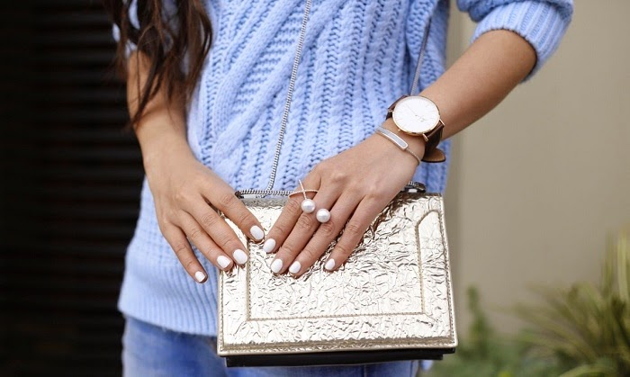 asos cable sweater with turtleneck, daniel wellington watch, baublebar pearl ring, crystal ring, monica vinader bracelet, accessories, 31phillip lim bag, 7fam boyfriend jeans, alice and olivia heels, san francisco, travel, after christmas sales,fashion blog, shallwesasa